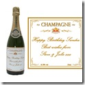 personalised champagne bottle 300 x 300