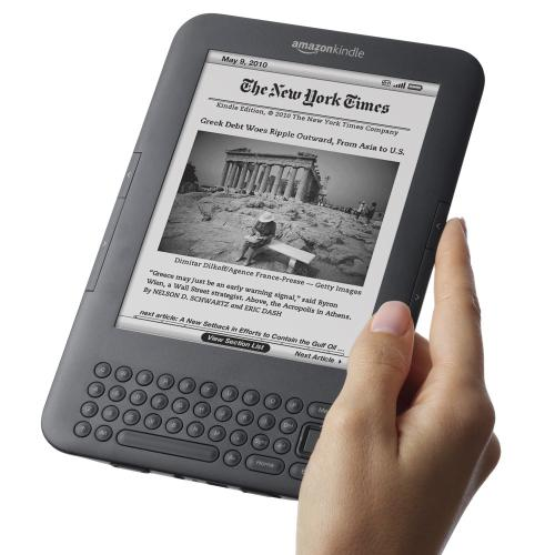 Kindle 3 Amazon e-book reader