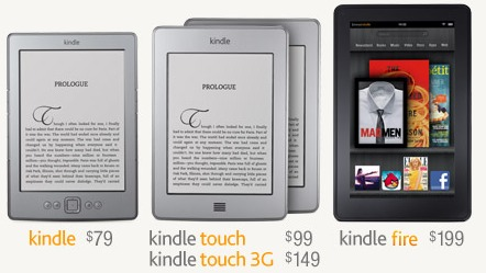 amazon kindle fire touch