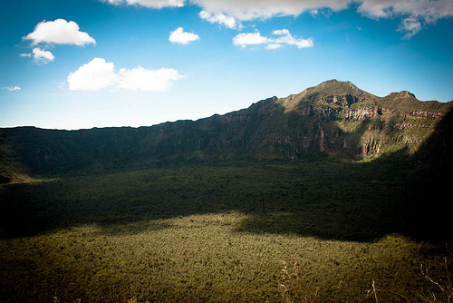 The Mount Longonot Kenya Africa