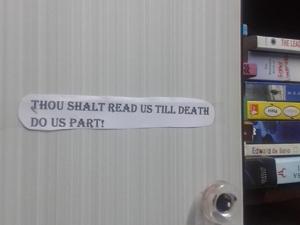 read till death