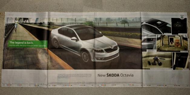 Skoda Octavia - Launch Ad