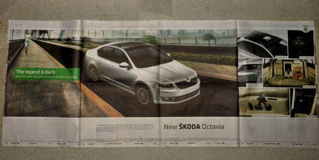 Skoda Octavia - Launch Ad