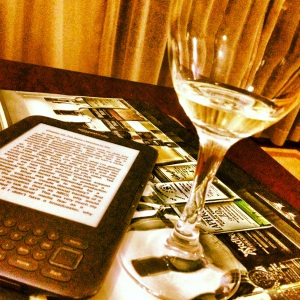 kindle wine glass